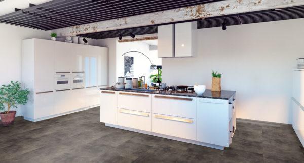 Pvc vloer Pure Tile 8509 Basalt Brown