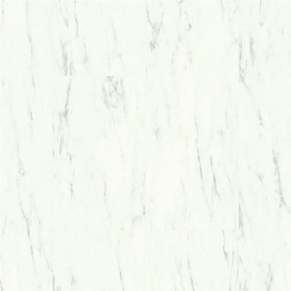 Quickstep pvc Ambient Click AMCL40136 Carrara marmer wit