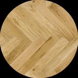 Visgraat lamel parket Oiled brushed family